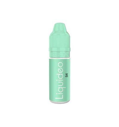 E-liquide 54 10ml par Liquideo de la gamme Evolution Fresh