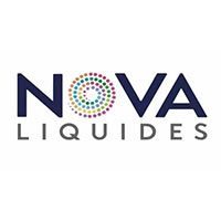 nova liquides e liquides marque logo