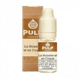e-liquide La noisette et sa coque 10 ml pulp liquides ciga france