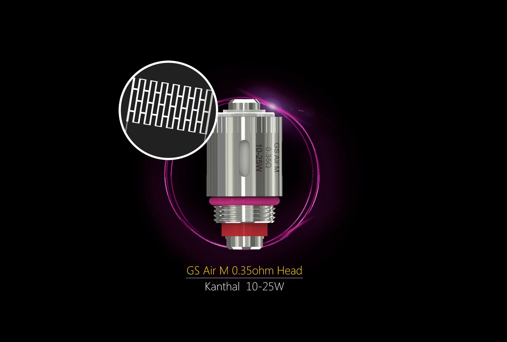 resistance gs air mesh 0.35 de eleaf